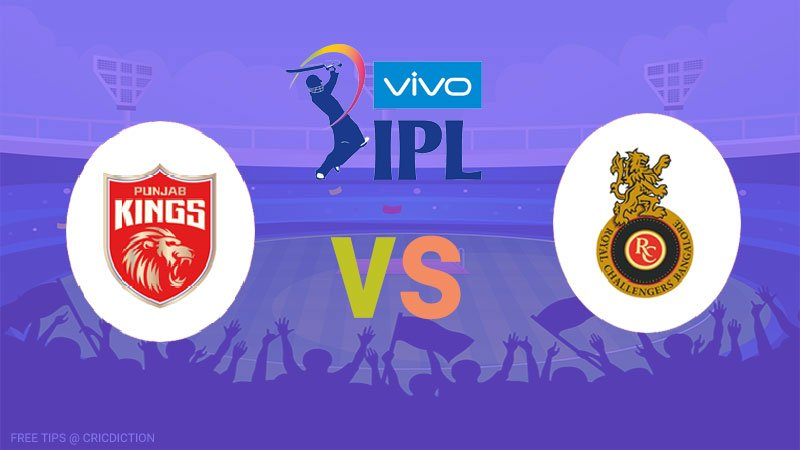 Punjab Kings vs Royal Challengers Bangalore