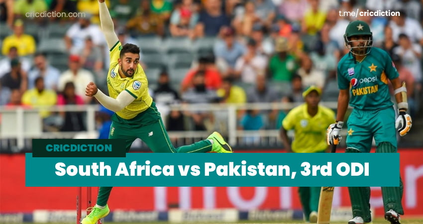 South Africa vs Pakistan Dream11 Team Prediction