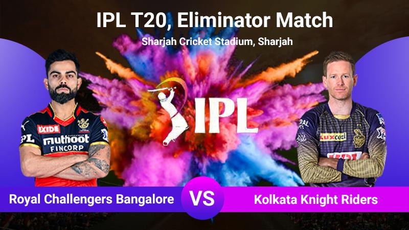 RCB vs KKR, Eliminator match